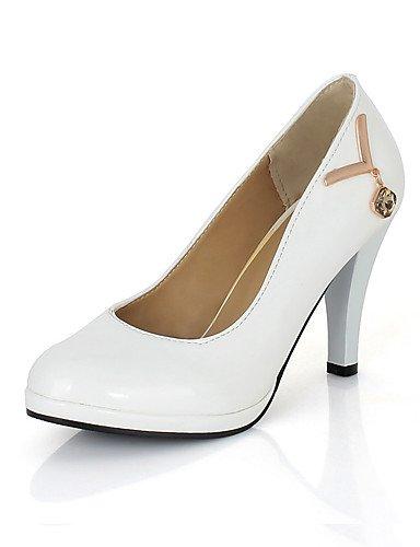 White Donna Uk7 e Rose serale lavoro 8 Unisex us9 Ufficio Needle Black Uomo Matrimonio Vestito Ragazza Heel casual Cn42 Eu41 Evento 5 10 GGX 5 Bianco 6n0qP5WwBY