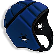 EliteTek Soft Padded Helmet Headgear Protection: 7 on 7 Tournaments, Flag Football, Team Sports, Training, Rugby, Lacrosse, Soccer, Practice & Epilepsy Head Protection FITS Youth & Adult!