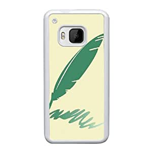 Classic Quill Image On Back Phone Case For HTC One M9