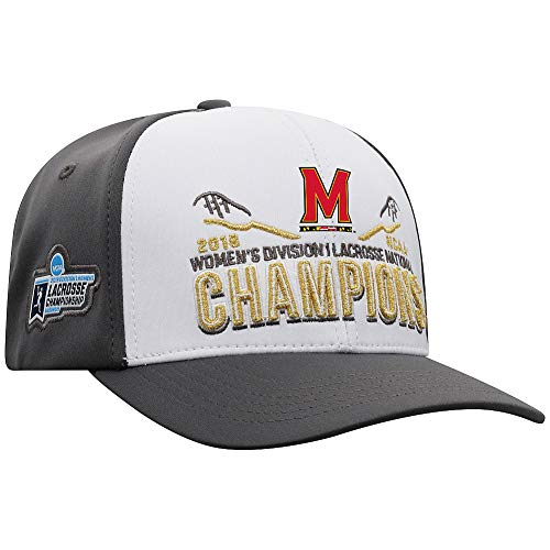Elite Fan Shop Maryland Terrapins Women's National Lacrosse Championship Hat 2019 - Adjustable - Charcoal