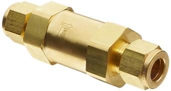 Parker F Series Brass Instrumentation Filter, CPI Compression Fitting
