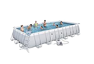 Bestway Best Way - Piscina Power Steel 732 x 366 x 132 cm + depuradora de Arena