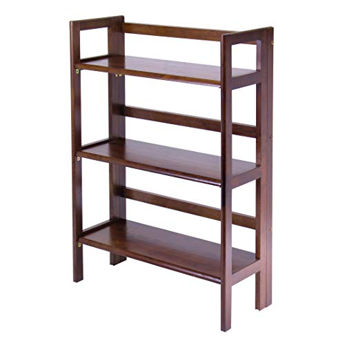 Winsome Wood 94896 Terry Shelving, Walnut