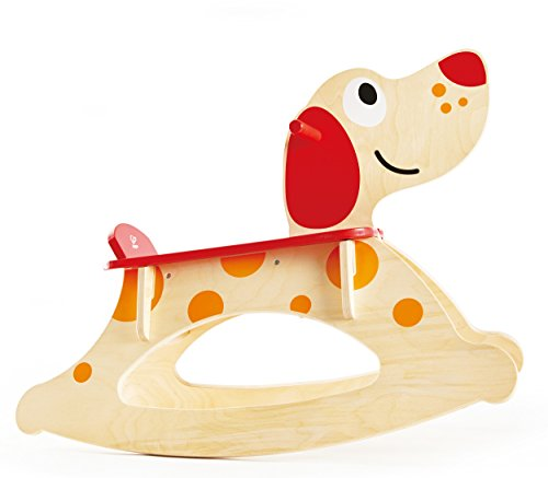 Hape Rocker Puppy Ride On (Wooden Train Rocker)