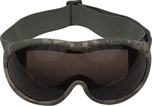 Goggles Acu Digital Camo Desert Tactical Goggles Shatterproof (Acu Digital Desert Goggles)