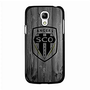 Samsung Galaxy S4 Mini Sports Cover,Angers Sporting Club De L'Ouest Fc Phone Case French Football League Vintage Custom Phone Cover for Phone Cover Samsung Galaxy S4 Mini Phone Case (Soccer Design for fans)