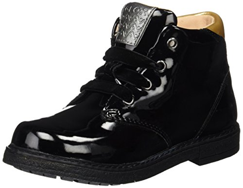 Geox B64D6C Zapatos Con Cordones Chica Schwarz (BLACKC9999)