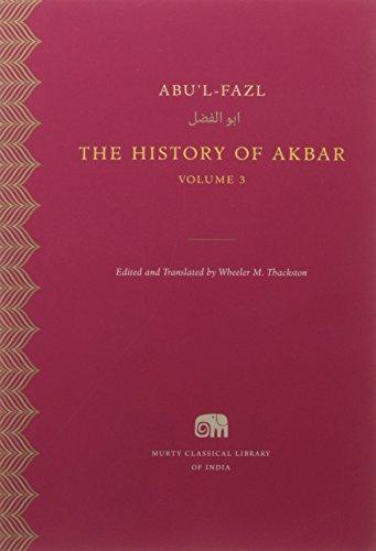 The History of Akbar Vol 3