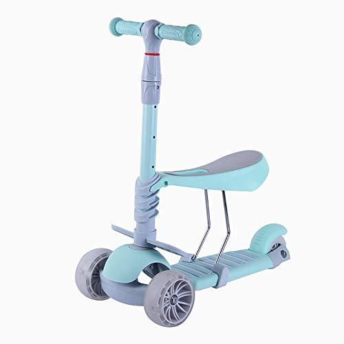 DMMW Scooter de Tres Ruedas para niños multifunción con ...