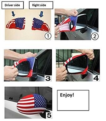 Fits Most Cars /& Small SUVs Iznwbbqsws Flag Czech Republic Side View Mirror Covers Set of 2