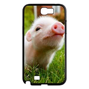 Little Pig Phone Case For Samsung Galaxy Note 2 N7100 [Pattern-1]