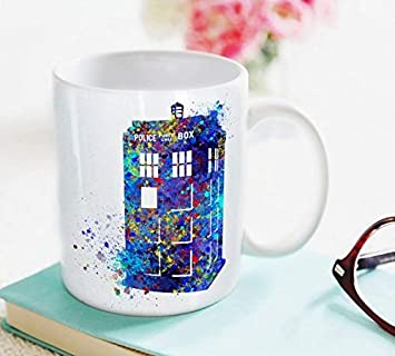 Dr Mug Coffee Who From Tardis Art Cup 4AjRc35Lq