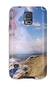 Barbara Gorman YyAposP21502XkxUG Protective Case For Galaxy S5(santa Clause In The Grey Dunes Curonia Xmas Claus Holiday Christmas)