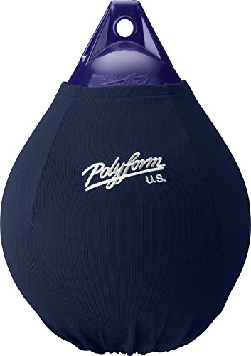 Polyform EFC-A4 Blue Boat Fender Cover Fits Polyform A-4 Boat Fenders