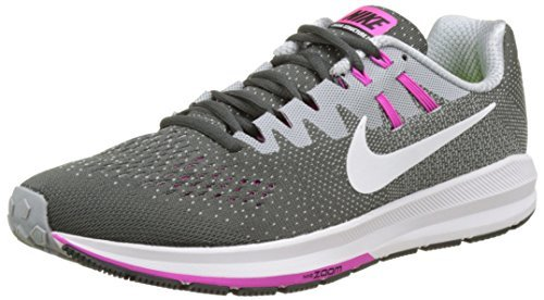 Nike Womens Air Zoom Structure 20 11 Anthracite/Wolf Grey...