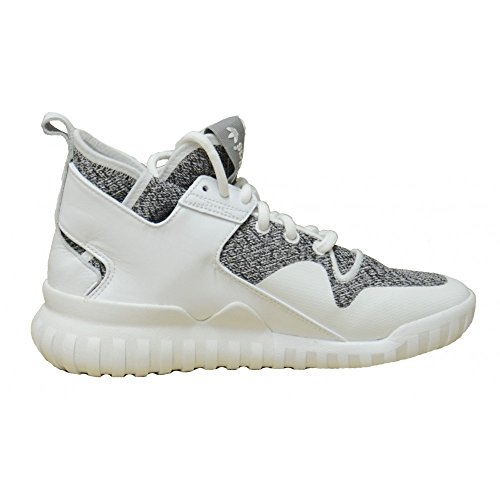 adidas Mens Tubular X Orignal Fashion Sneakers Ftw White/Charcoal Solid Grey ZIm7U9SoE
