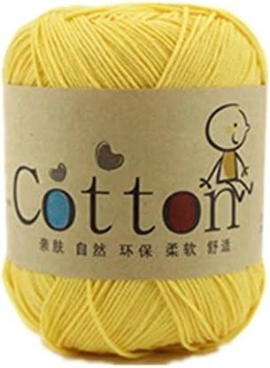Celine lin One Madeja de algodón natural supersuave, 23 colores diferentes: Amazon.es: Hogar
