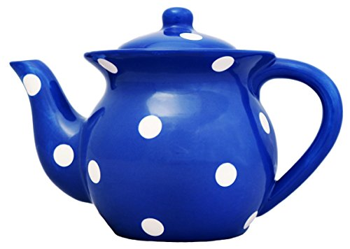 Viva Collection, Blue, Polka Dot Teapot 6