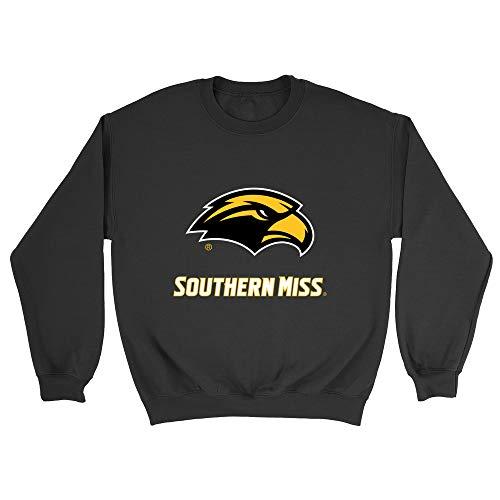Official NCAA U of Southern Mississippi Golden Eagles - RYLUSM06, G.A.18000, BLK, L
