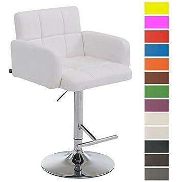 chaise de bar reglable avec dossier et accoudoir