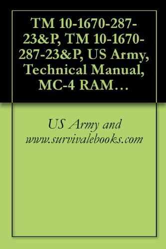 TM 10-1670-287-23&P, TM 10-1670-287-23&P, US Army, Technical Manual, MC-4 RAM AIR FREE-FALL PERSONNEL PARACHUTE SYSTEM, NSN 1670-01-306-2100, 2003 (Parachute Cdc)