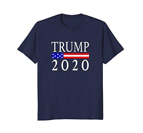 Mens Trump 2020 Shirt XL Navy