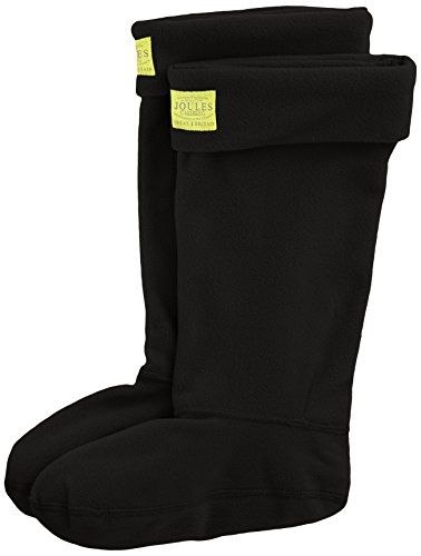 Image of Joules Women's Welton Rain Boot Socks, Black, Small