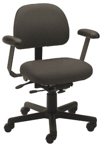Cramer - TPMD4-272-2B - Stone Polyester Intensive 24/7 Task Chair 15 Back Height, Arm Style: 2-Way Adjustable