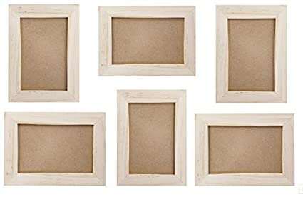 Unfinished Craft Picture Frames Bulk Crafting