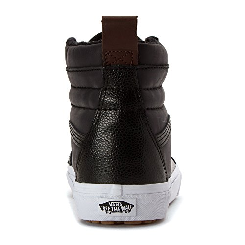Pebble Zapatillas Leather Hombre hi Classic Black para Vans Altas Suede Canvas Sk8 6XqwgzO