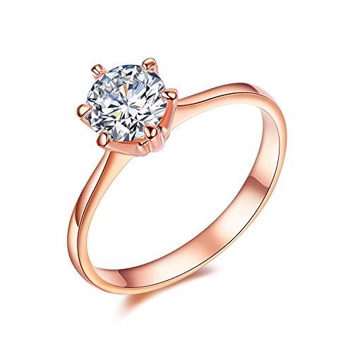 Rose Gold Ring Amazoncom