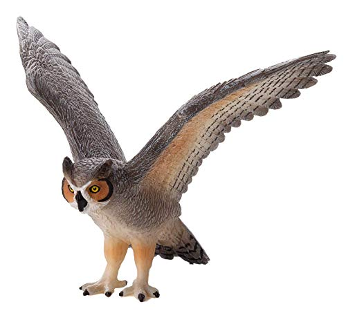 - MOJO Great Horned Owl Toy Figure