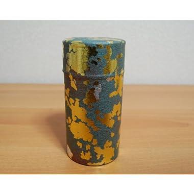 Ryu Mei Kaga Japanese Tea Canister [Gray]