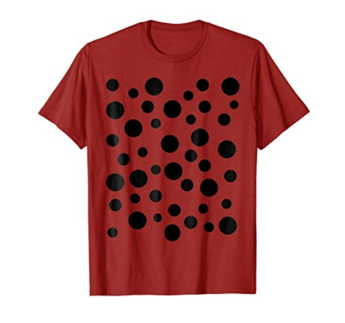 Last Minute Funny Halloween Easy Ladybug DIY Costume Shirt ()