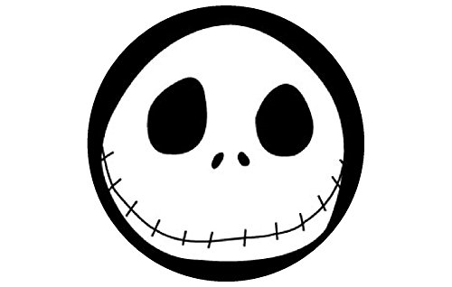 Jack Skellington 12ct. EDIBLE IMAGE CUPCAKE TOPPERs DECORATION picture Nightmare before Christmas sally PARTY