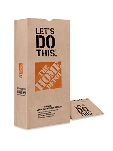 Paper Lawn Bags (10 Bags) and 7 Pattern Metal Nozzle for Leaf and Yard Clean-up from Home Depot Durable and Tear Resistant Easy to Set up Enhance your Backyard Experience Now by Basketball Academy Books L.L.C.