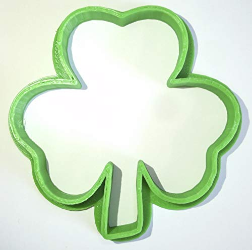 SHAMROCK CLOVER SAINT PATRICKS DAY ST PATTYS HOLIDAY SPECIAL OCCASION COOKIE CUTTER FONDANT BAKING TOOL 3D PRINTED USA - Cutter Cookie Patty St