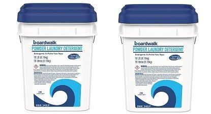 Boardwalk 340LP Laundry Detergent Powder, Summer Breeze, 15.42 lb Bucket (2-Pack)