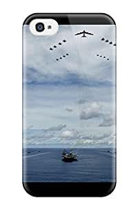 TYH - 4754306K76012858 Aircraft Carrier Awesome High Quality Iphone 4/4s Case Skin phone case