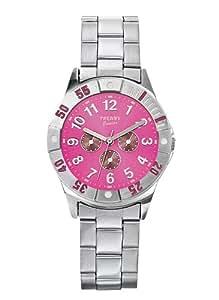 Trendy Junior KL 170 - Reloj analógico de cuarzo para niña con correa de metal, color gris