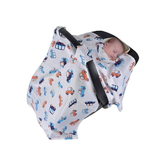 """Wonder Wee Carry COT Canopy/CAR SEAT Cover 44"""""""
