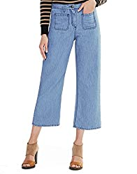 Belstaff Liv Tyler And Jamila Cropped Trousers For Women In Indigo Blue 48 Us 14
