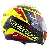 Scorpion EXO-500 Corsica Red/Neon Yellow Full Face Helmet - Small