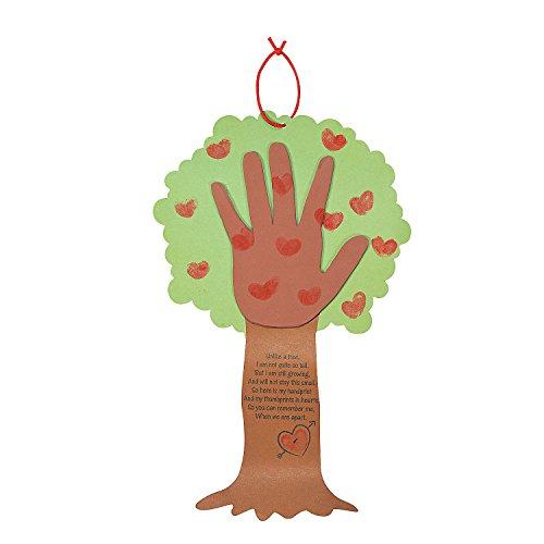 Poem Craft Kit (Valentine Tree Thumbprint Poem Craft)