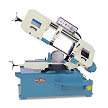 "Baileigh BS-330M Manual Metal Cutting Band Saw, 3-Phase 220V, 3hp Motor, 1-1/4"" Blade, 13"" Round Capacity"