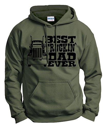 Truckin Truck Driver Hoodie Sweatshirt