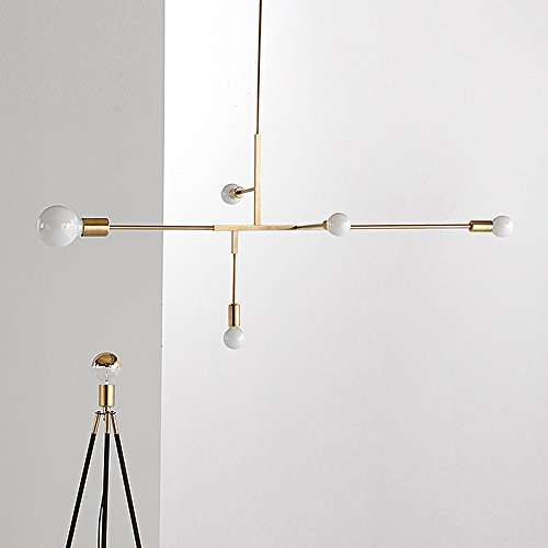 Modern metal pendant lighting hanging lamp ceiling chandelier with 5 yoka modern metal pendant lighting hanging lamp ceiling chandelier with 5 lights gold finish fixture flush mount mozeypictures Image collections