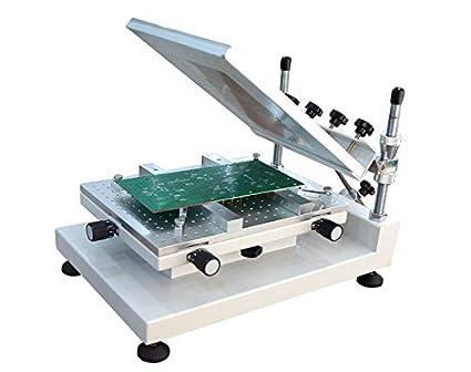 Amazon com: High Precision PCB Stencil Printer Stencil Silk Screen