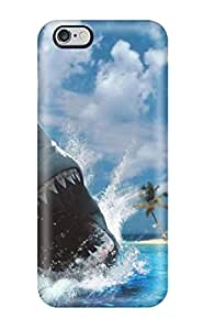 New Premium Jalik Davis Shark Desktop Skin Case Cover Excellent Fitted For Iphone 6 Plus