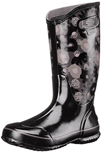 Bogs Womens Acquerello Rain Boot Nero / Multi
